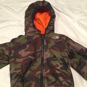 Reversible Kids NorthFace Jacket